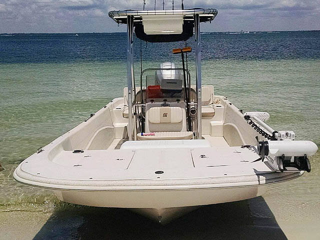 T-Top for 2013 Carolina Skiff 218 DLV center console boats 158471-8