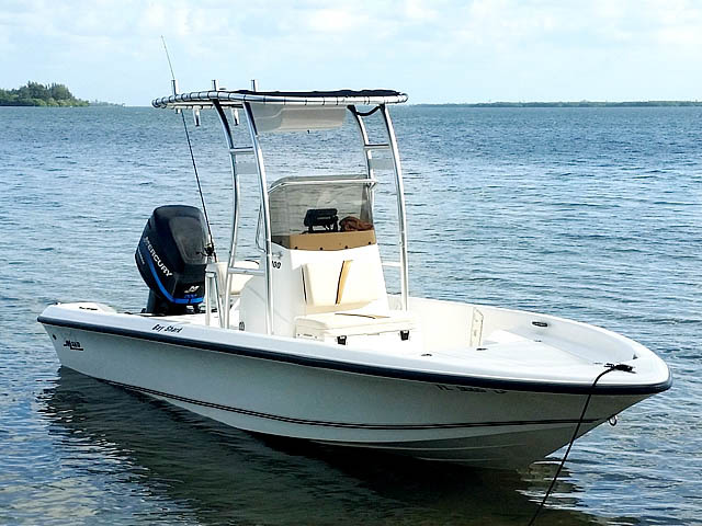 T-Top for 2003 Mako Bayshark center console boats 158472-1