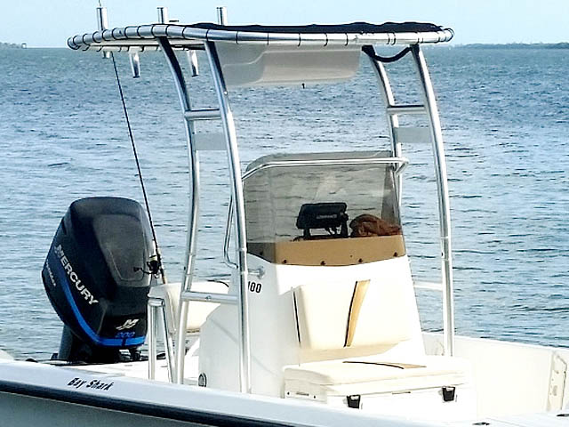 T-Top for 2003 Mako Bayshark center console boats 158472-2
