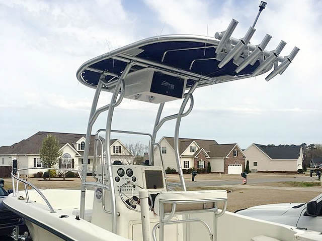 T-Top for 2005 Sea Boss 180cc center console boats 158476-2