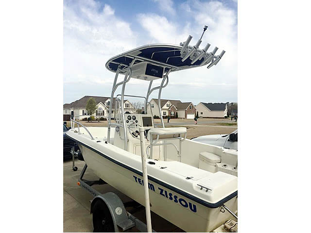 T-Top for 2005 Sea Boss 180cc center console boats 158476-3