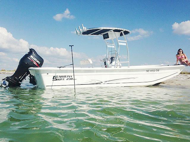 T-Top for 2012 Carolina Skiff 238DLV  center console boats 158489-1