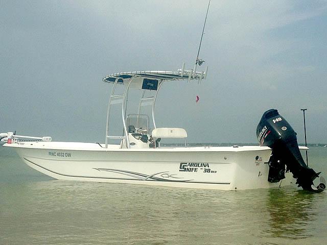 T-Top for 2012 Carolina Skiff 238DLV  center console boats 158489-10