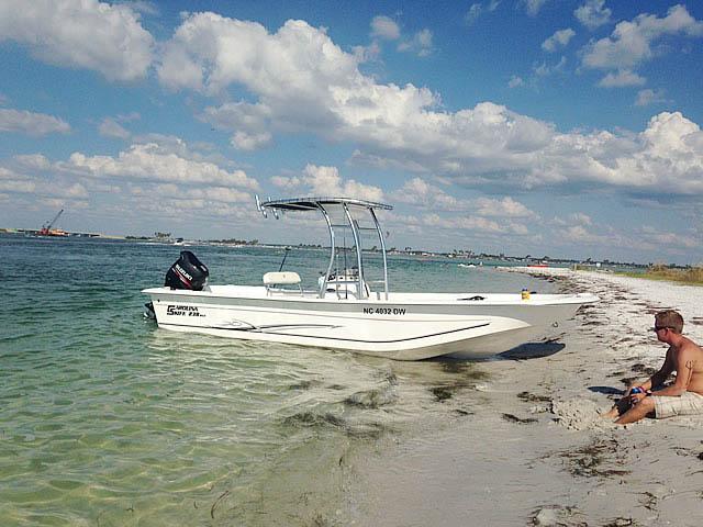T-Top for 2012 Carolina Skiff 238DLV  center console boats 158489-3