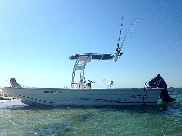 T-Top for 2012 Carolina Skiff 238DLV  center console boats 158489-5