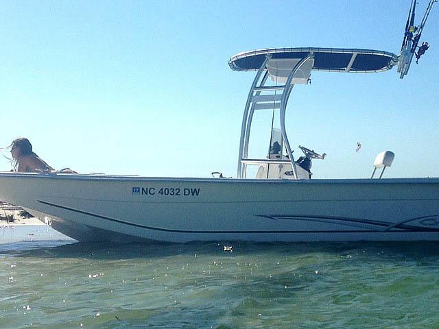 T-Top for 2012 Carolina Skiff 238DLV  center console boats 158489-6