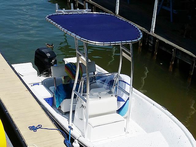 T-Top for 1985 Cobia  center console boats 158491-7