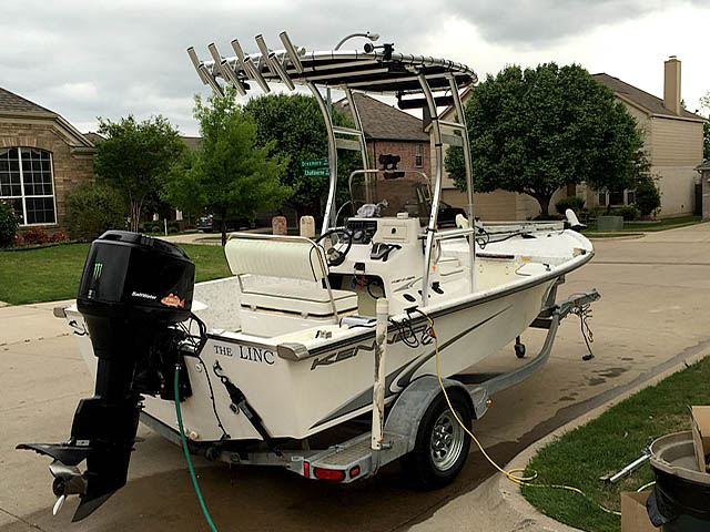 T-Top for 2004 Kenner CC center console boats 158501-3