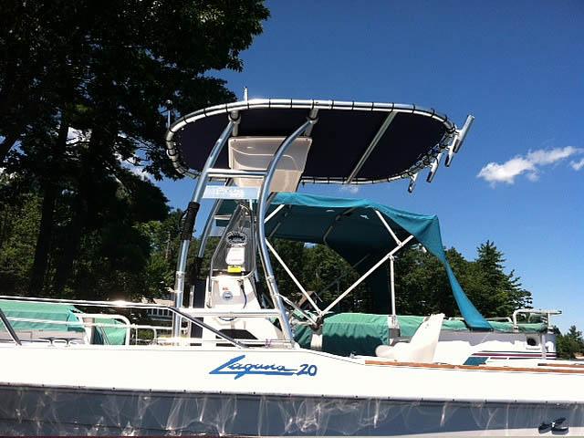 T-Top for 1989 Sea Ray Laguna center console boats 158873-2
