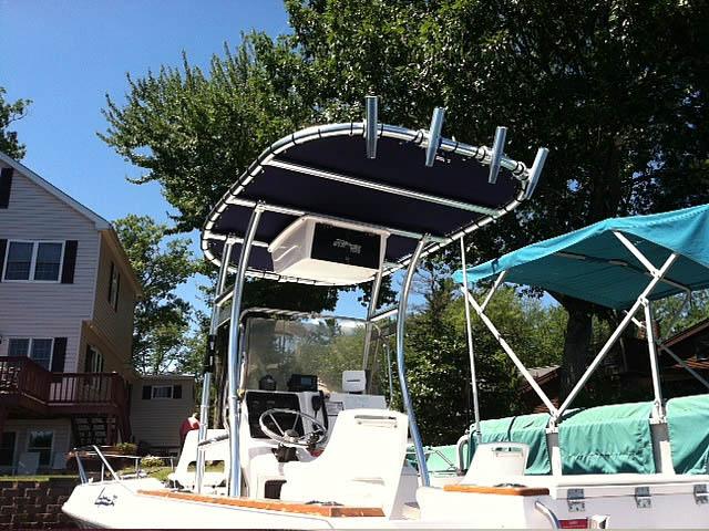 T-Top for 1989 Sea Ray Laguna center console boats 158873-3