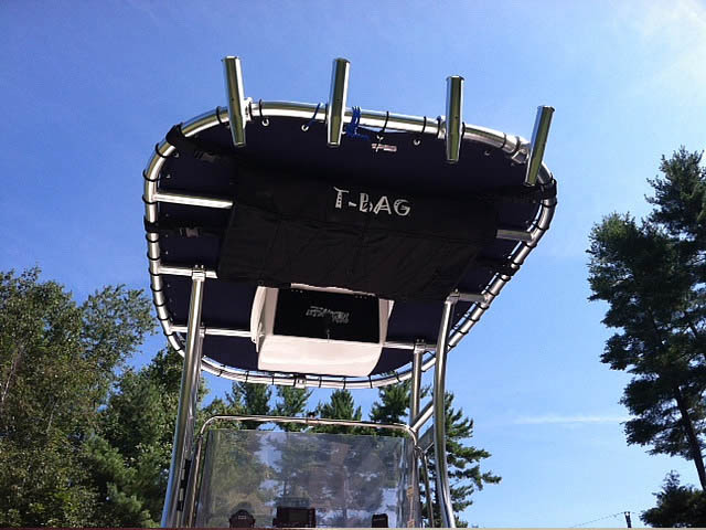 T-Top for 1989 Sea Ray Laguna center console boats 158873-4