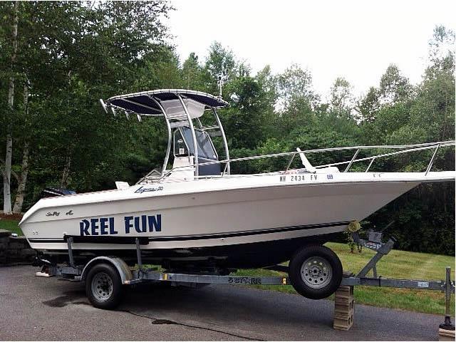 T-Top for 1989 Sea Ray Laguna center console boats 158873-5