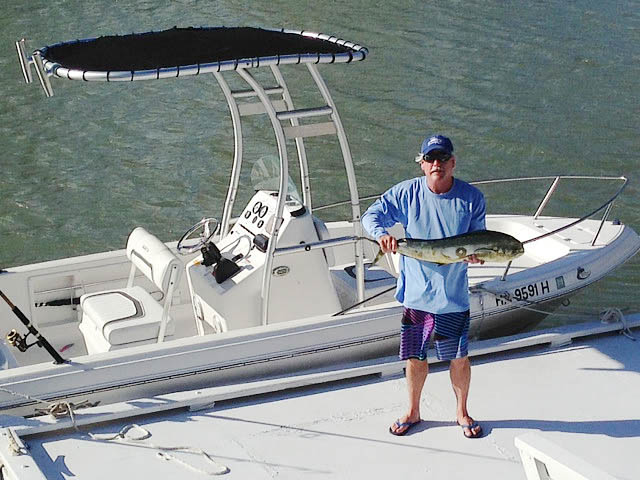 2012 Sea Fox 18 Foot Center Console boat t-tops