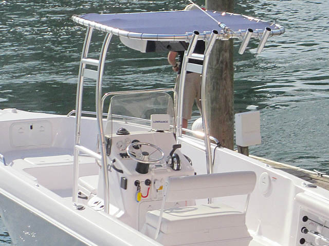 T-Top for 2014 23' Pro-Line Center Console center console boats 159183-4