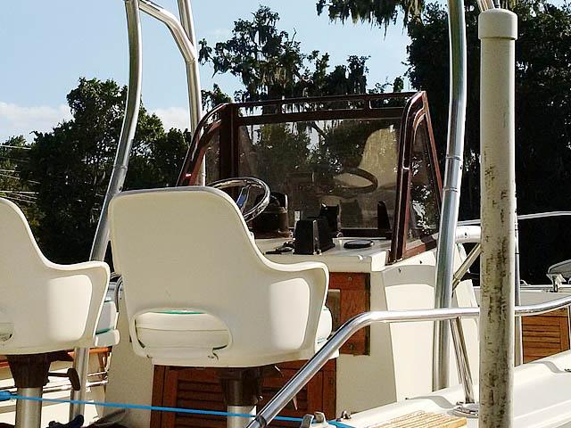 T-Top for 1986 Mako center consol center console boats 159648-5