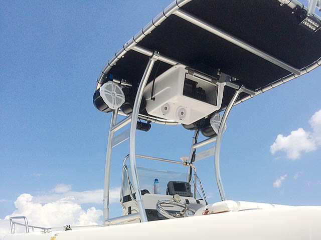 T-Top for 2007 Cobia 214 center console boats 159712-5