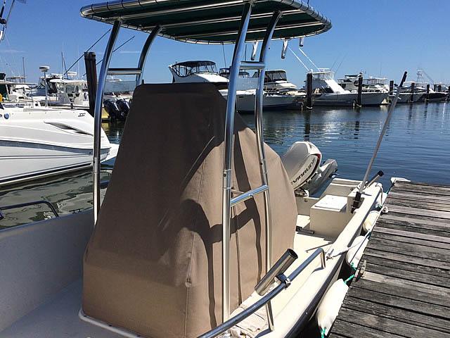 2013 Maycraft boat t-tops