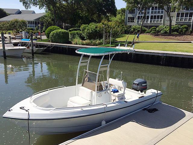1999 Pro Sport boat t-tops