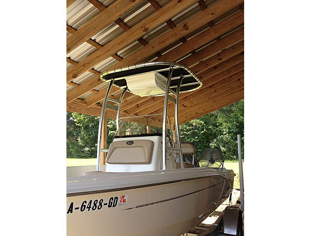 T-Top for 2014 Scout 175 SportFish center console boats 160610-1