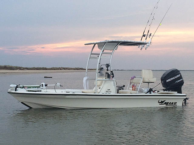 T-Top for Mako Boats