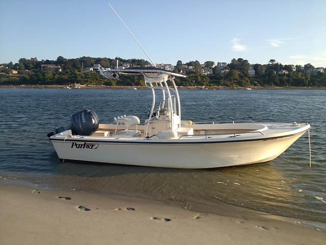 2005 Parker 21 CCSE boat t-tops