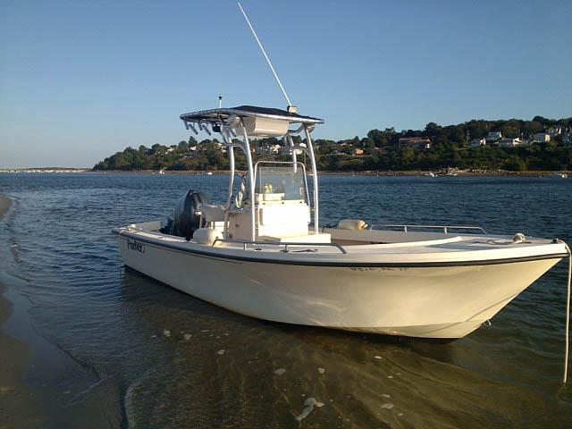 T-Top for 2005 Parker 21 CCSE center console boats 161717-2