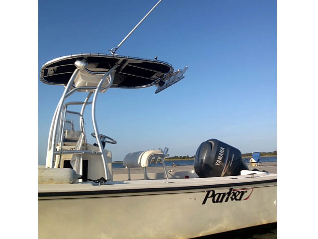 T-Top for 2005 Parker 21 CCSE center console boats 161717-3