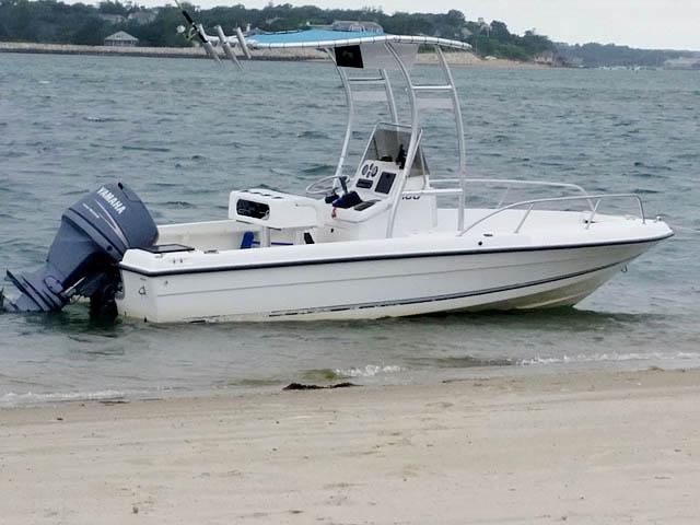 1996 Neptune  Sunbird  boat t-tops
