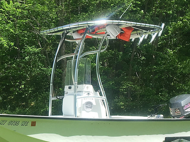 T-Top for 1969 Boston Whaler center console boats 180668-4