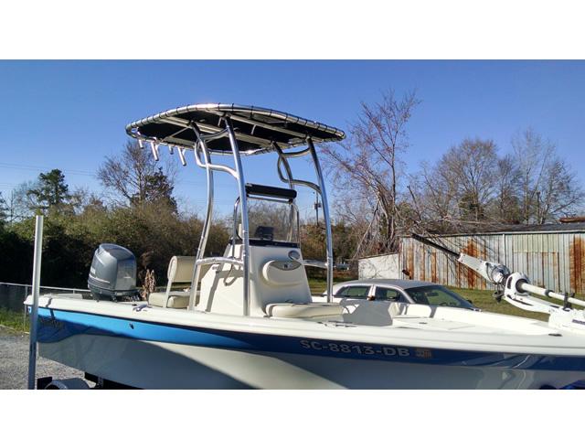 2015 Nauticstar 1810 boat t-tops