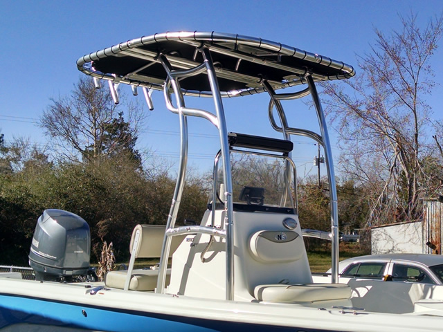 T-Top for 2015 Nauticstar 1810 center console boats 184111-2