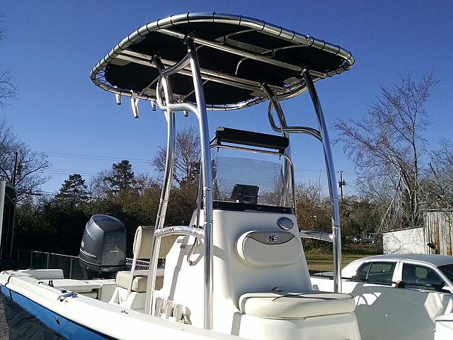 T-Top for 2015 Nauticstar 1810 center console boats 184111-6