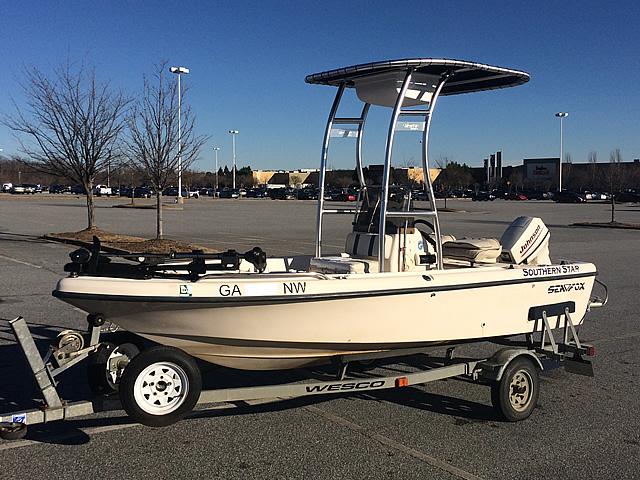 T-Top for 1999 Sea Fox 16' CC center console boats 184114-3