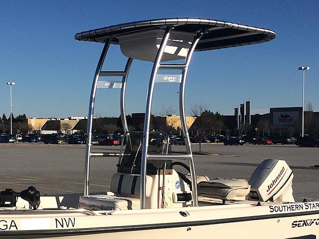 T-Top for 1999 Sea Fox 16' CC center console boats 184114-4