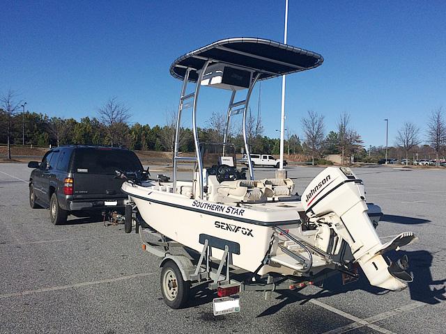 T-Top for 1999 Sea Fox 16' CC center console boats 184114-7