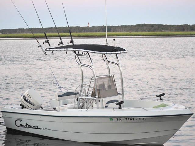 2001  Pro Sport  180CC boat t-tops