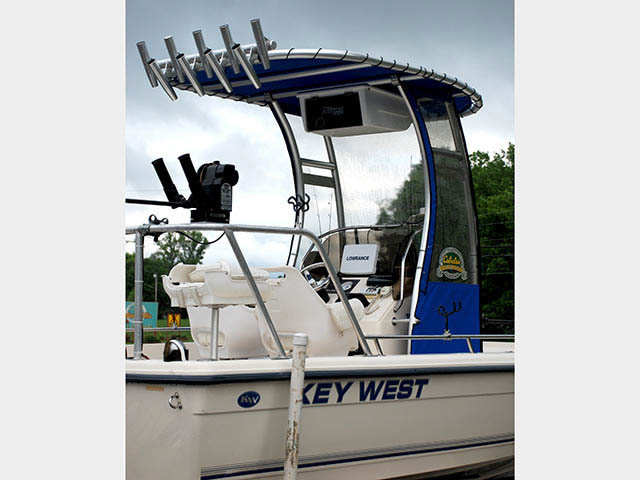 T-Top for Key West center console boats 22883-2