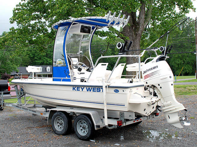 T-Top for Key West center console boats 22883-3