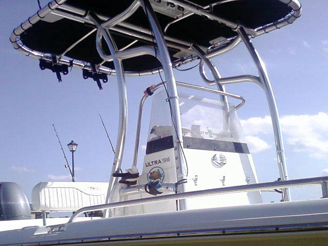 T-Top for 2008 Sea Hunt center console boats 33938-3
