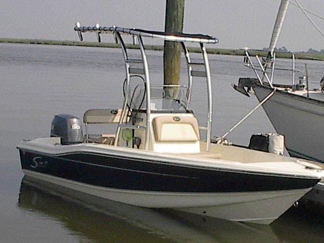 T-Top for 2011 Scout 175 SF center console boats 34023-3