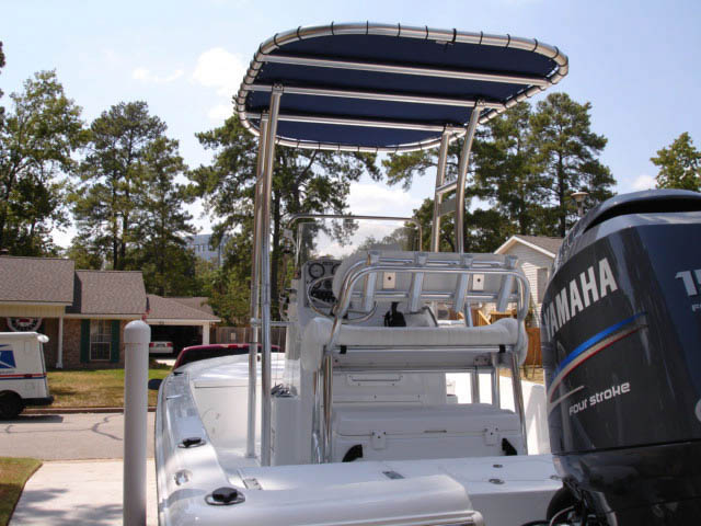 T-Top for 2011 Sea Hunt XP 21 center console boats 34033-7