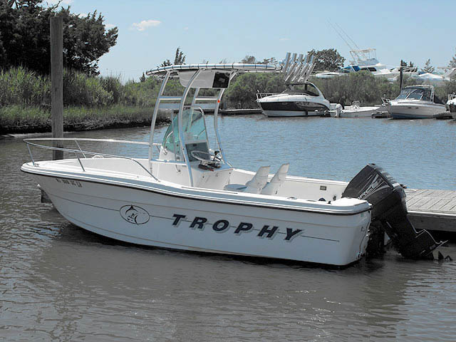 T-Top for 1998 Trophy 1903 center console boats 34090-2