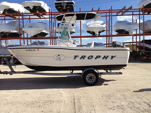 T-Top for 1998 Trophy 1903 center console boats 34090-3