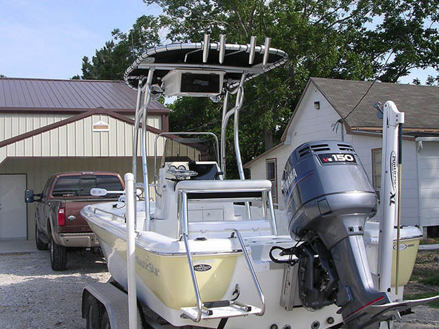 T-Top for 2007-NauticStar 2110 center console boats 34213-3
