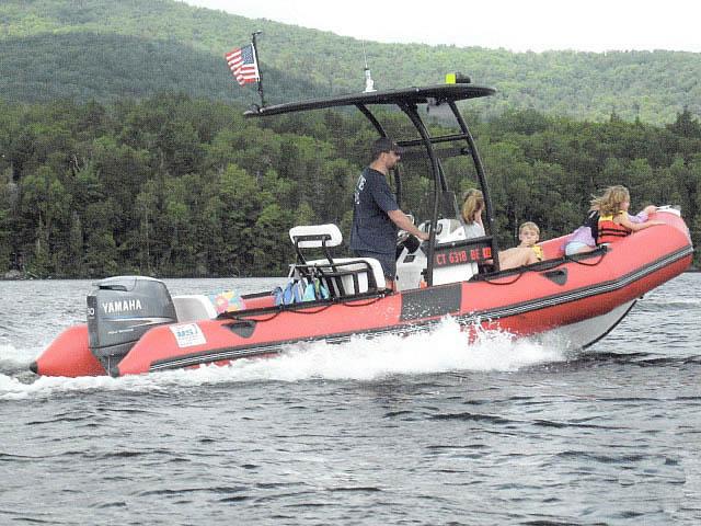 2007 Zodiac Pro16 Man boat t-tops