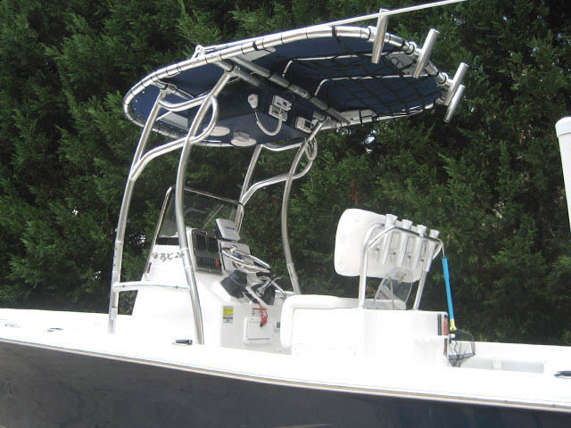 T-Top for 2011 Sea Hunt BX24 Bay Boat center console boats 34485-2