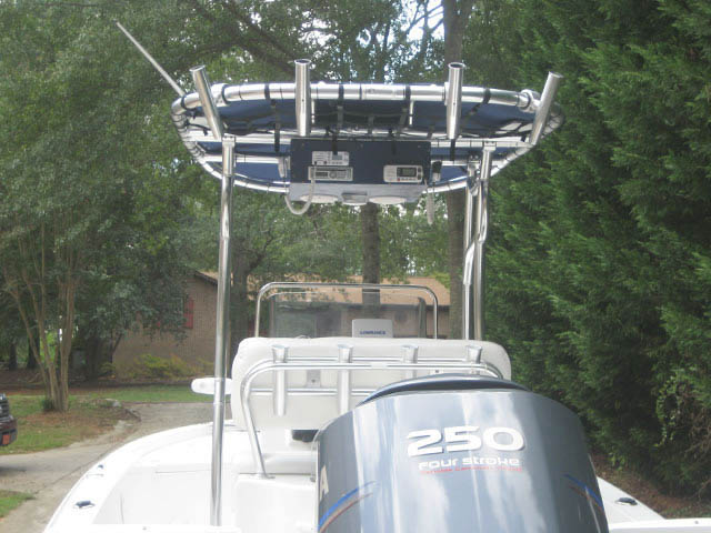 T-Top for 2011 Sea Hunt BX24 Bay Boat center console boats 34485-3