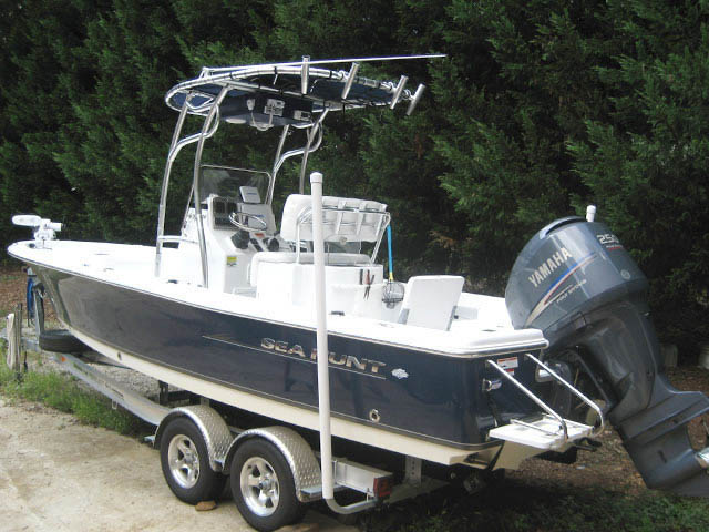 T-Top for 2011 Sea Hunt BX24 Bay Boat center console boats 34485-5