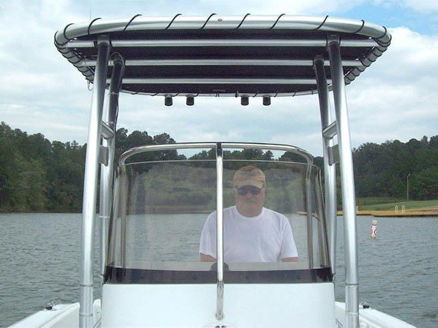 2006 Triumph 195CC boat t-tops
