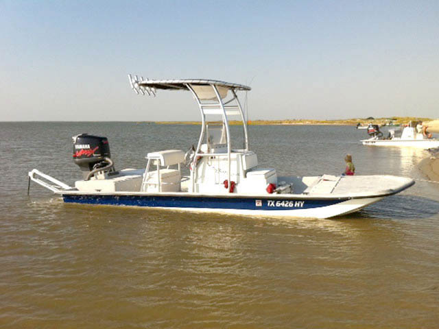 T-Top for 1998 Shoalwater  BajoCat center console boats 34528-2